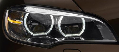 Bmw X6 2008+ E71 E72 E70 X5 M European Led Headlight Retrofit Oem Headlamp Pair