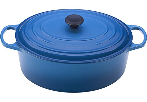 Le Creuset Signature Enameled Cast-Iron 9.5 Quart Oval French (Dutch) Oven, Marseille