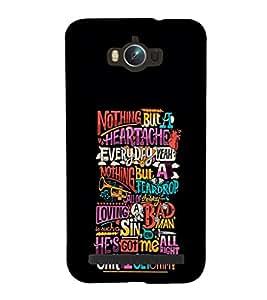 EPICCASE love hurts Mobile Back Case Cover For Asus Zenfone Max (Designer Case)