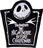 The Nightmare Before Christmas Logo Iron On Patch