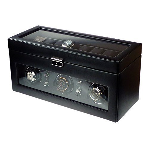 dulwich-designs-of-london-watch-winder-for-3-watch-with-storage-area-above-perfect-rolex-breitling-t