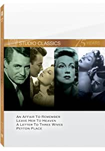 Classic Quad Set 2 (An Affair to Remember / Leave Her to Heaven / A Letter to Three Wives / Peyton Place)