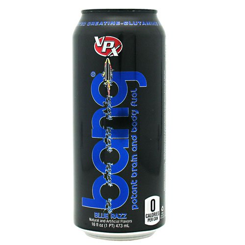 Vpx (Vital Pharmaceuticals) - Bang 357 Blue Raspberry, , 12 Drinks