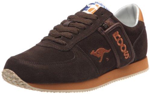 Kangaroos - Sneaker Combat, Uomo, Marrone (Braun (Marron (Chocolate/Cognac))), 42