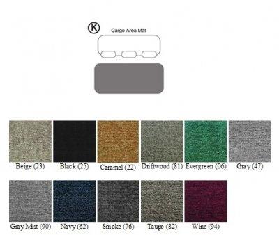 Premier Custom Fit 1-piece Cargo Area Carpet Floor Mat for Acura MDX (Premium Nylon, Wine) (2003 Acura Mdx Cargo Cover compare prices)