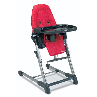 High Chair Color: Raspberry front-546303