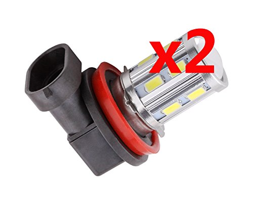S&D Big Sale!!! 2Pcs/One Pair H11 White 5730 Smd Cree Xpe Led Super Bright Auto/Car/Rv/Boat/Truck/Vehicle Fog Turn Brake Light Lights Bulb Lamp,6000K,800-1100Lm£¬Free Shipping,12 Months¡¯Guaranty