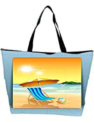 Snoogg Abstract Summer Background Waterproof Bag Made Of High Strength Nylon - B01I1KLHO8