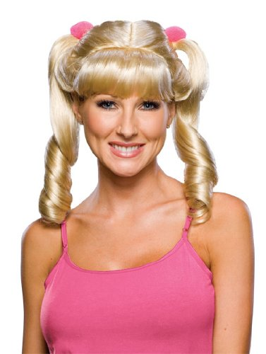 Rubie's Costume Blond Cheerleader Wig - 1