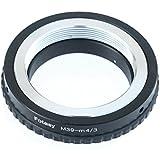 Fotasy AM39 Copper Leica LTM M39 39mm Screw Lens to Micro Four Thirds M43 MFT System Camera Mount Adapter