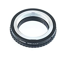 Fotasy AM39 Copper Leica LTM M39 39mm Screw Lens to Micro Four Thirds M43 MFT System Camera Mount Adapter