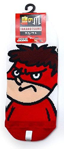 【秘密結社鷹の爪】レディースソックス・靴下(吉田くんアップ) 約22~24cm TK01