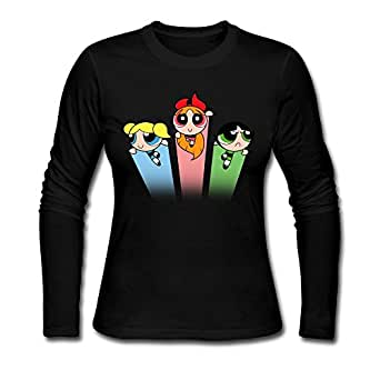 Women powerpuff girls custom cool size xxl for Amazon custom t shirts