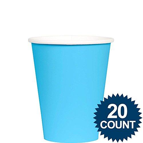Caribbean Blue 9oz - PaperCups