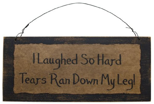 Laughed So Hard Primitive Sayings Sign Distressed Wood Board Country Primitive Wall Décor new 7 inch replacement lcd display screen for fly iq320 1280 800 tablet pc free shipping