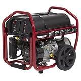 Powermate 3250-Watt Manual Start Portable Generator PM0123250 with Wheel Kit