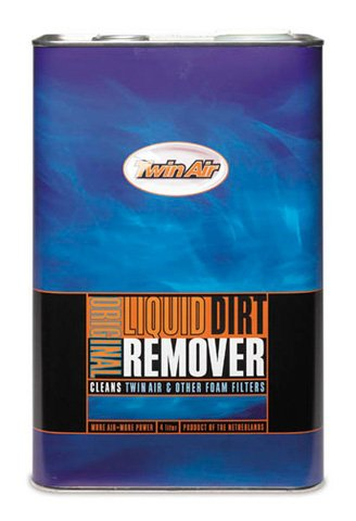 TWIN AIR LIQUID DIRT REMOVER (4L CAN), Manufacturer: TIWN AIR, Manufacturer Part Number: 159002-AD, Stock Photo - Actual parts may vary.