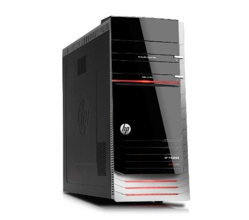 HP Pavilion Elite h9-1150 Phoenix Desktop (Black/Red)