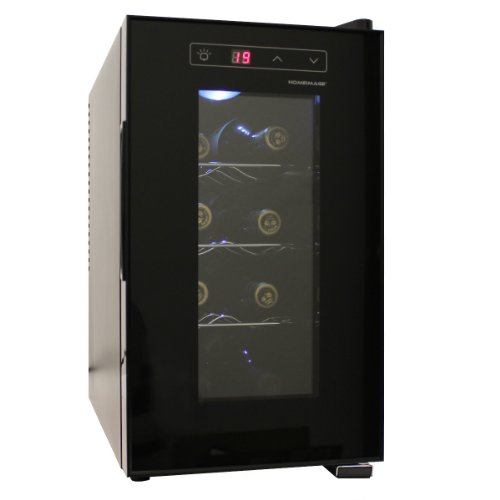 Homeimage 8 bottle thermal electric wine cooler hi 8c for Modern homes 8 bottle wine cooler