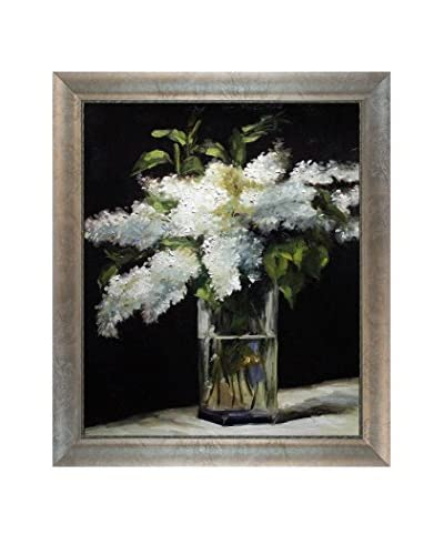 Édouard Manet Lilacs In A Vase Reproduction Oil On Canvas