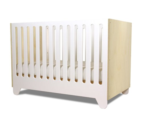 Hiya Crib - Polar White & Birch