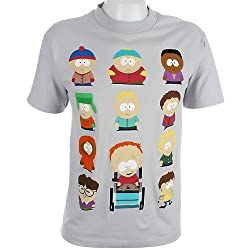 South Park Cast Men's T-Shirt