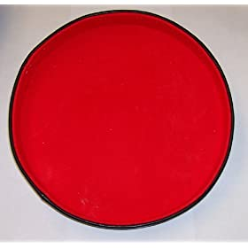 Dice Tray Felt Lined 10 inch Diameter - Great Gift