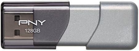 PNY Turbo 128GB USB 3.0 Flash Drive - P-FD128TBOP-GE