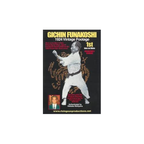 Gichin Funakoshi 1st Time on Video 1924