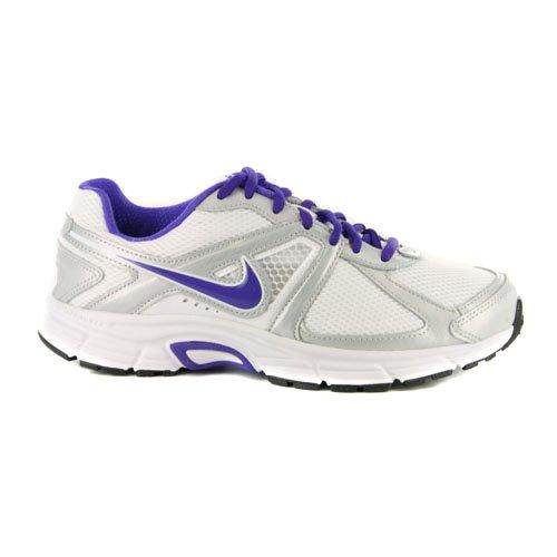 Womens Nike Dart 9 White Purple Running Trainers