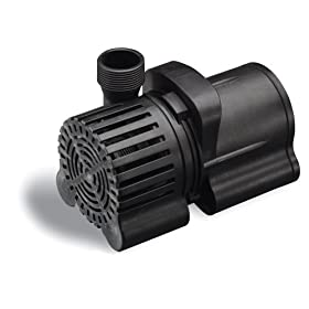Sunterra 202000 Pond Pump 2000 GPH, Black