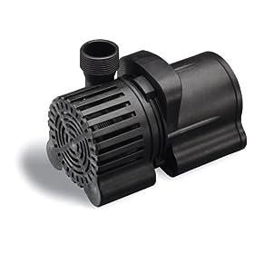 Sunterra 202000 Pond Pump 2000 GPH, Black