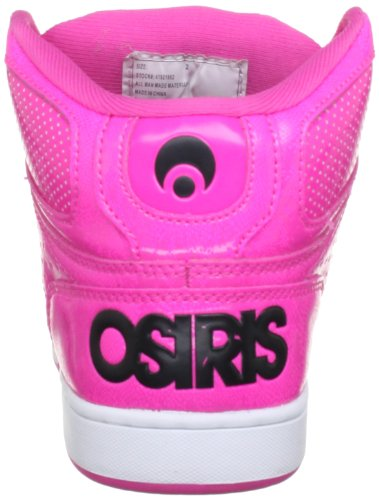 d07944e1 Osiris NYC 83 SLM Skate Shoe (Little Kid/Big Kid),Pink/Pink/Black,4 M ...