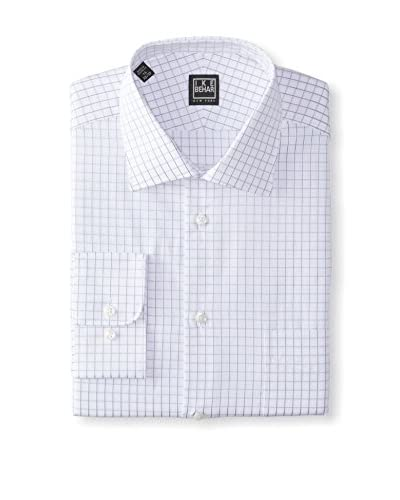 Ike Behar Black Label Men's Check Dress Shirt