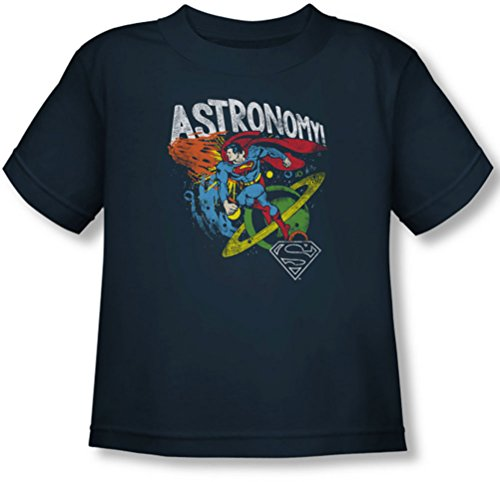 Dc - Toddler Astronomy T-Shirt, Size: 2T, Color: Navy front-904447