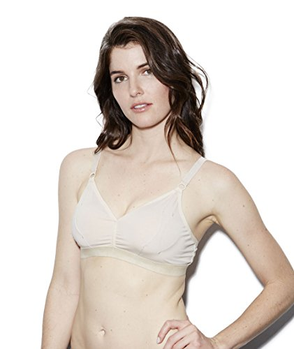 The Dairy Fairy Rose: Hands-Free Pumping Bra,Naked,X-Large - 1