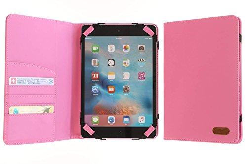 3Q Custodia Universale per Tablet 7 pollici a 8 pollici Novità maggio 2016 Porta Tablet Cover Design Esclusivo Svizzero Custodia Rosa.