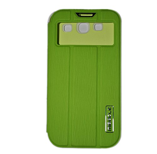 MIRACLE GREEN Flip Cover For SAMSUNG GALAXY S3 I9300/I9301i