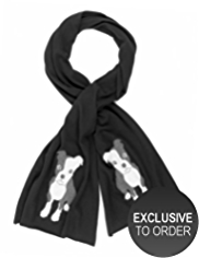 M&S Collection Pure Cashmere Puppy Scarf