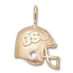 Ohio State University OSU Helmet - 14K Gold by Logo Art