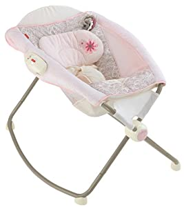 Fisher-Price Deluxe Newborn Rock N Play Sleeper, My Little Sweetie