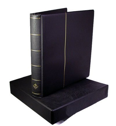 Lighthouse Royal Sheet Binder and Slipcase in Black