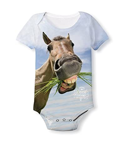 Rodeo Rags Kid's Horse Teeth Sublimated Bodysuit