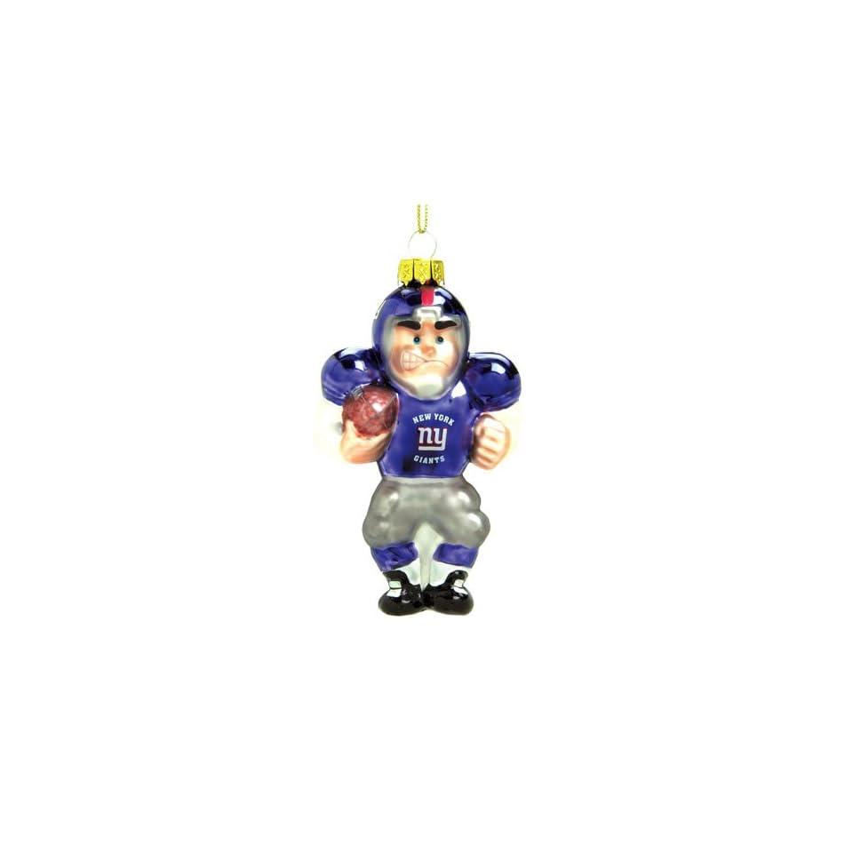 BSS   New York Giants NFL Glass Player Ornament (5