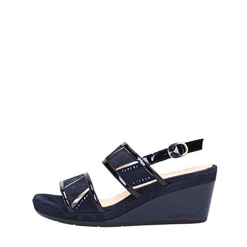 Melluso R7626 Sneakers Donna Vernice Blu Scuro Blu Scuro 36