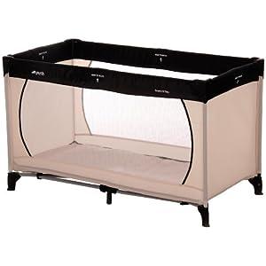reisebettmatratze de hauck 604472 reisebett dream 39 n play 60x120 cm charcoal sand. Black Bedroom Furniture Sets. Home Design Ideas