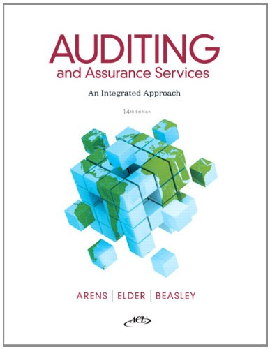 Auditing and Assurance Services (14th Edition)