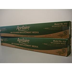 Aprilaire 413 Furnace Filter (2 Pack)