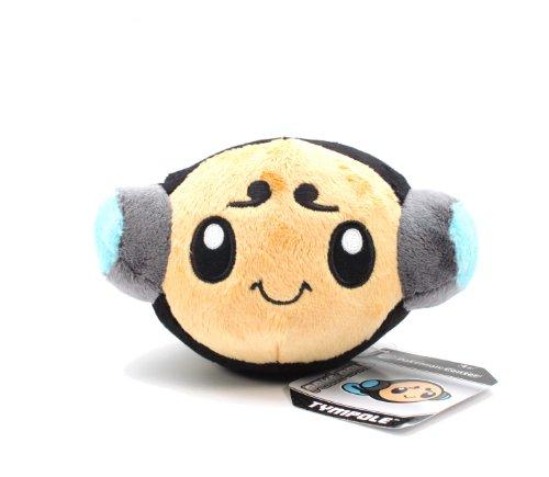 """Pokemon Center Black and White Pokedoll Plush Doll USA - 6"""" Tympole/Otamaro - 1"""