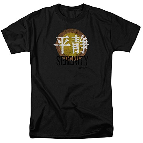 Firefly Serenity Logo Mens Short Sleeve Shirt Black 3X (Serenity Movie Merchandise compare prices)